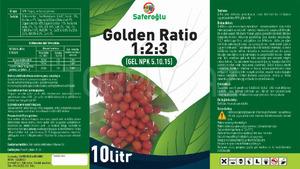 Golden Ratio(1 2 3) 10lt