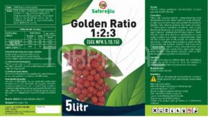 Golden Ratio(1 2 3) 5 lt